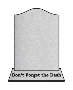 Dash Headstone