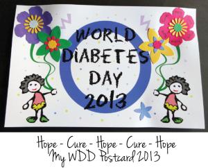 WDD 2013 Postcard