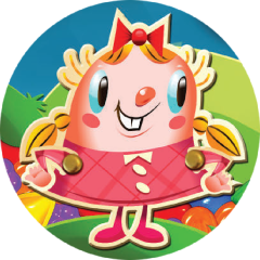 Candy Crush Girl