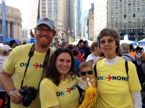JDRF One Walk Manhattan 2014 is a family affair