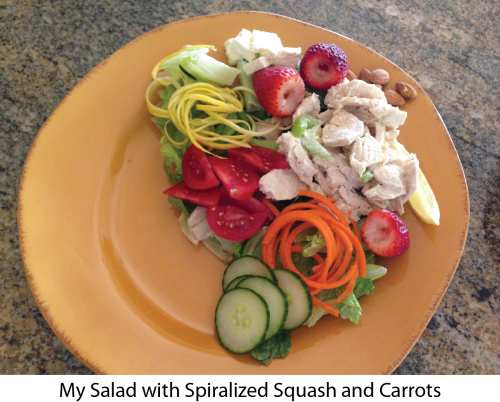 My Salad with Spiralized