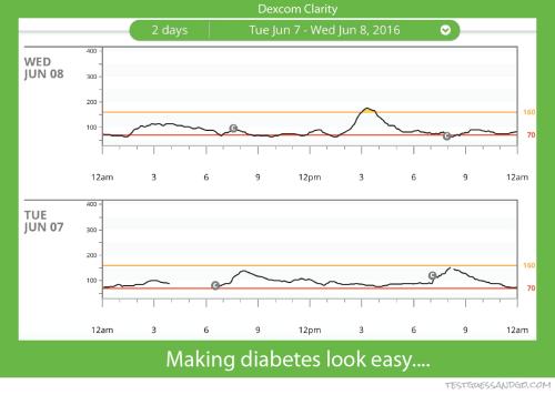 Dexcom Clarity Graphs